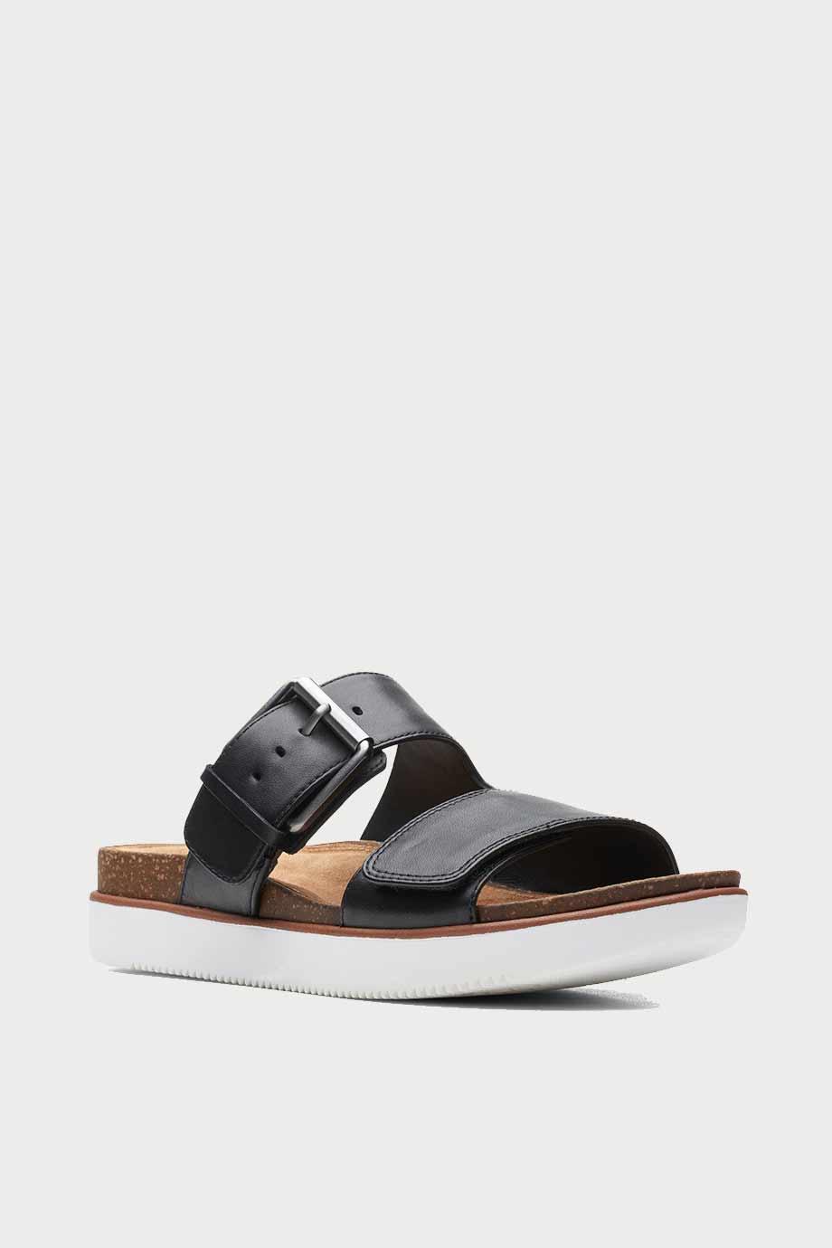 spiridoula metheniti shoes xalkida p Elayne Ease clarks black leather 7