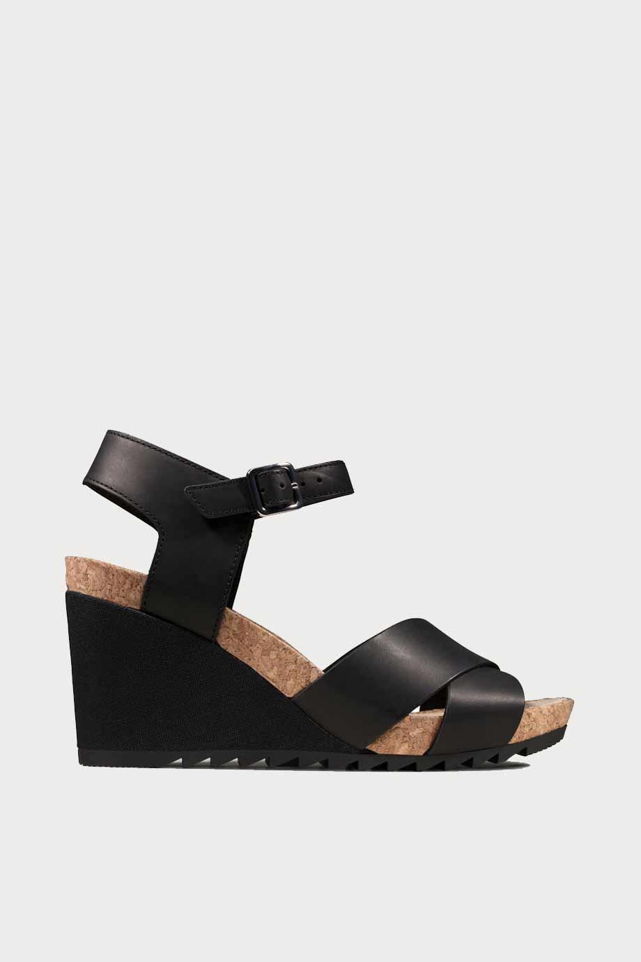 spiridoula metheniti shoes xalkida p Flex Sun clarks black leather 1