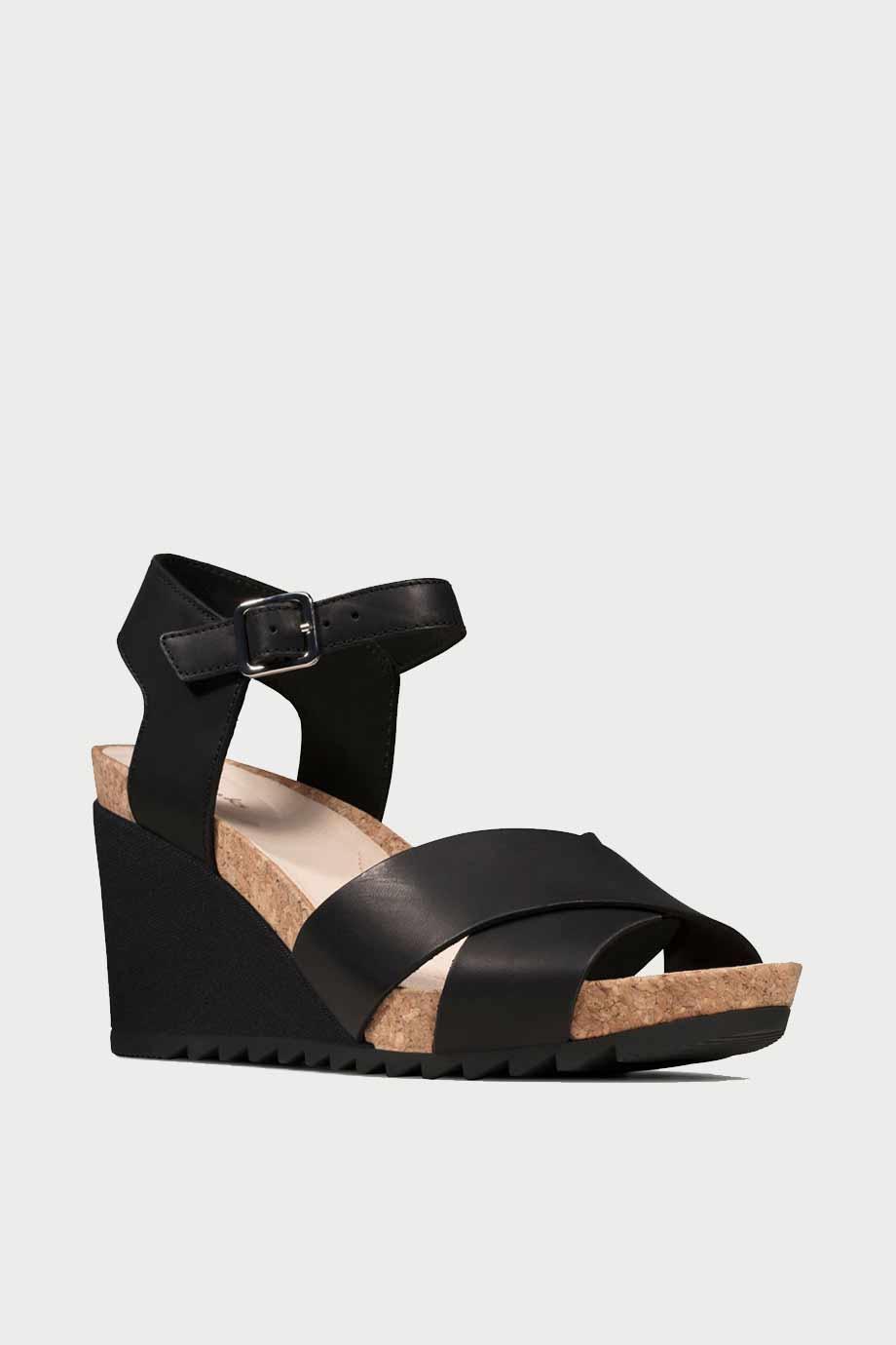 spiridoula metheniti shoes xalkida p Flex Sun clarks black leather 2