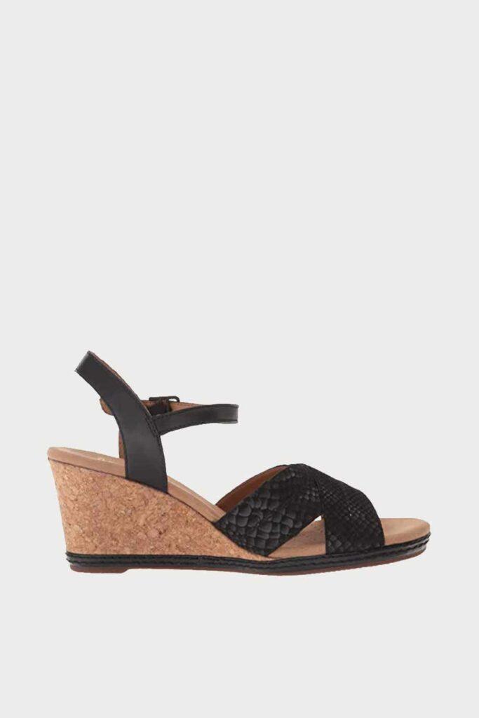 spiridoula metheniti shoes xalkida p Helio Latitude clarks black leather 6