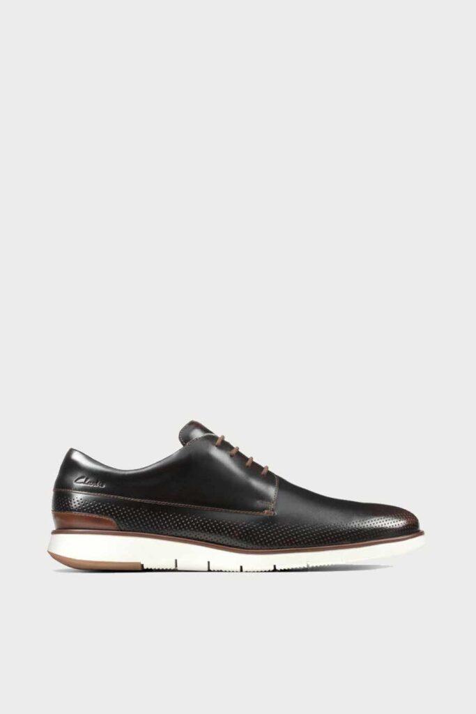spiridoula metheniti shoes xalkida p Helston Walk clarks dark tan leather 1