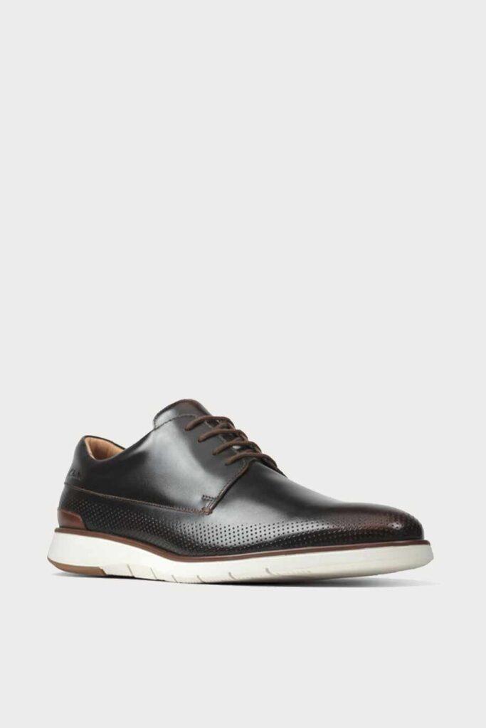 spiridoula metheniti shoes xalkida p Helston Walk clarks dark tan leather 2
