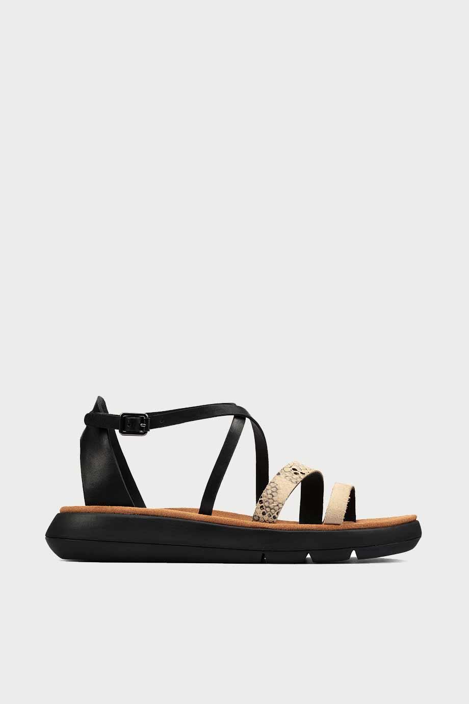 spiridoula metheniti shoes xalkida p Jemsa Strap clarks black combi lea 1