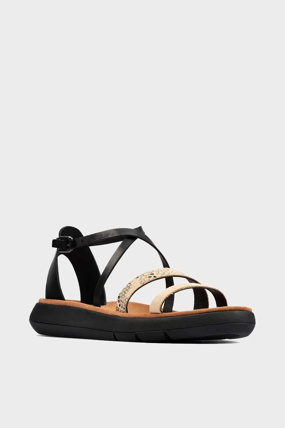 spiridoula metheniti shoes xalkida p Jemsa Strap clarks black combi lea 2