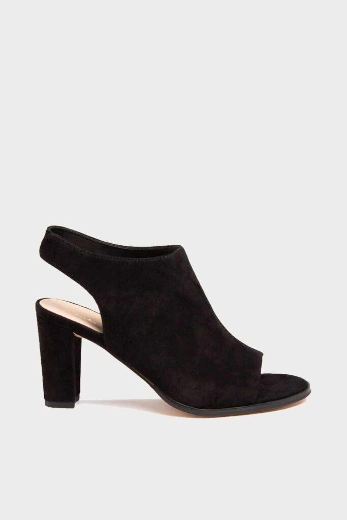 spiridoula metheniti shoes xalkida p Kaylin 85 Sling clarks black suede 2