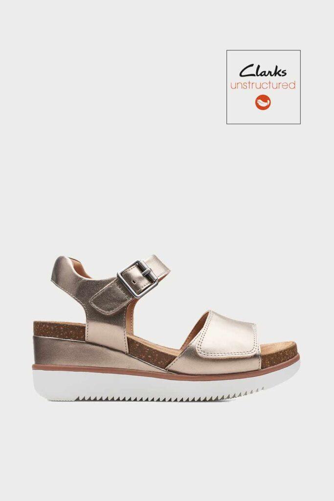 spiridoula metheniti shoes xalkida p Lizby Strap clarks gold metallic 1