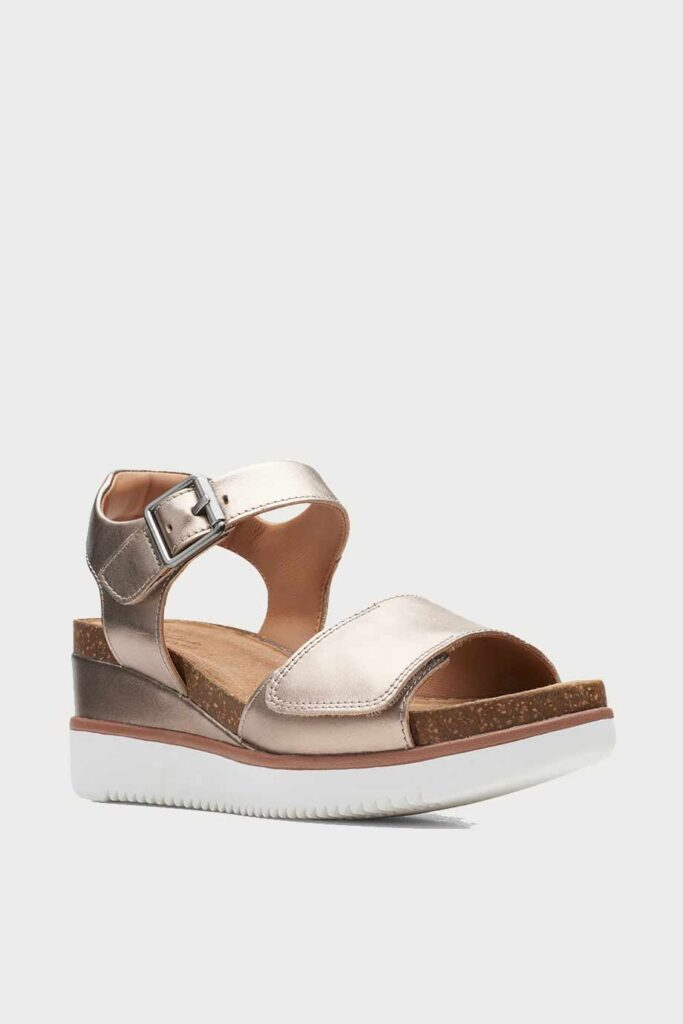 spiridoula metheniti shoes xalkida p Lizby Strap clarks gold metallic 2