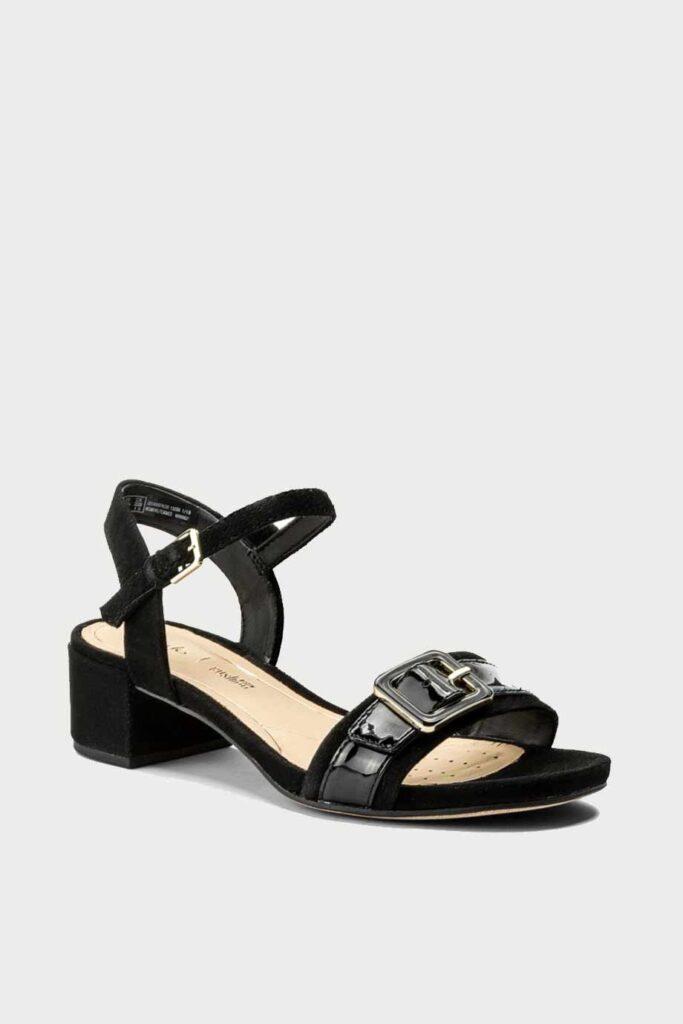 spiridoula metheniti shoes xalkida p Orabella Shine clarks black combi 1