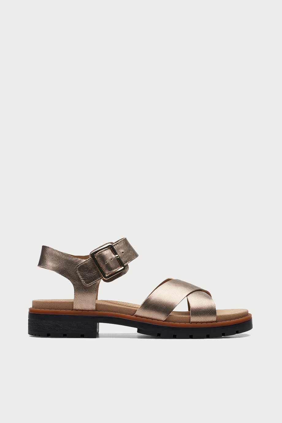 spiridoula metheniti shoes xalkida p Orinoco Strap clarks metallic 1