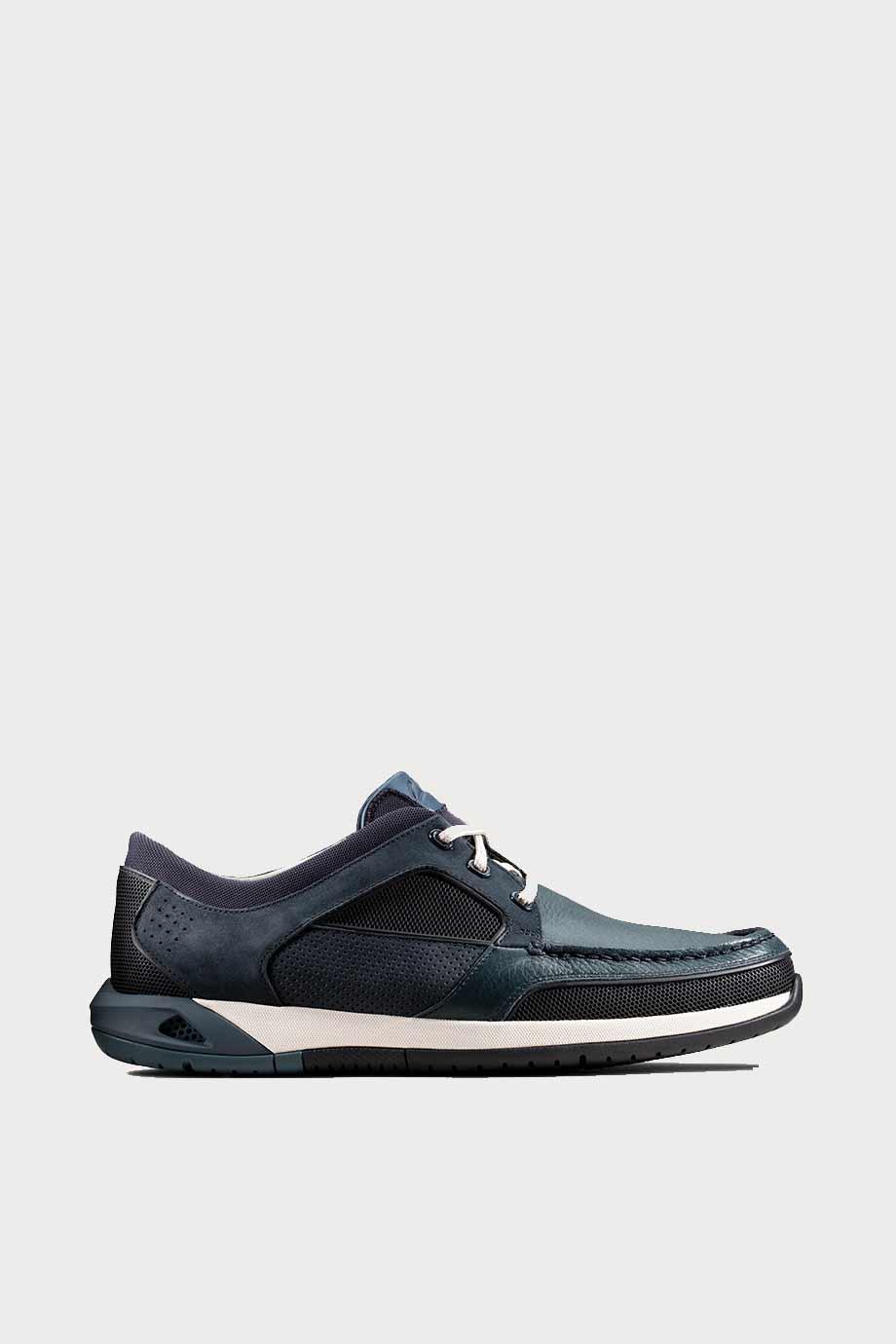 spiridoula metheniti shoes xalkida p Ormand Sail clarks navy leather 1