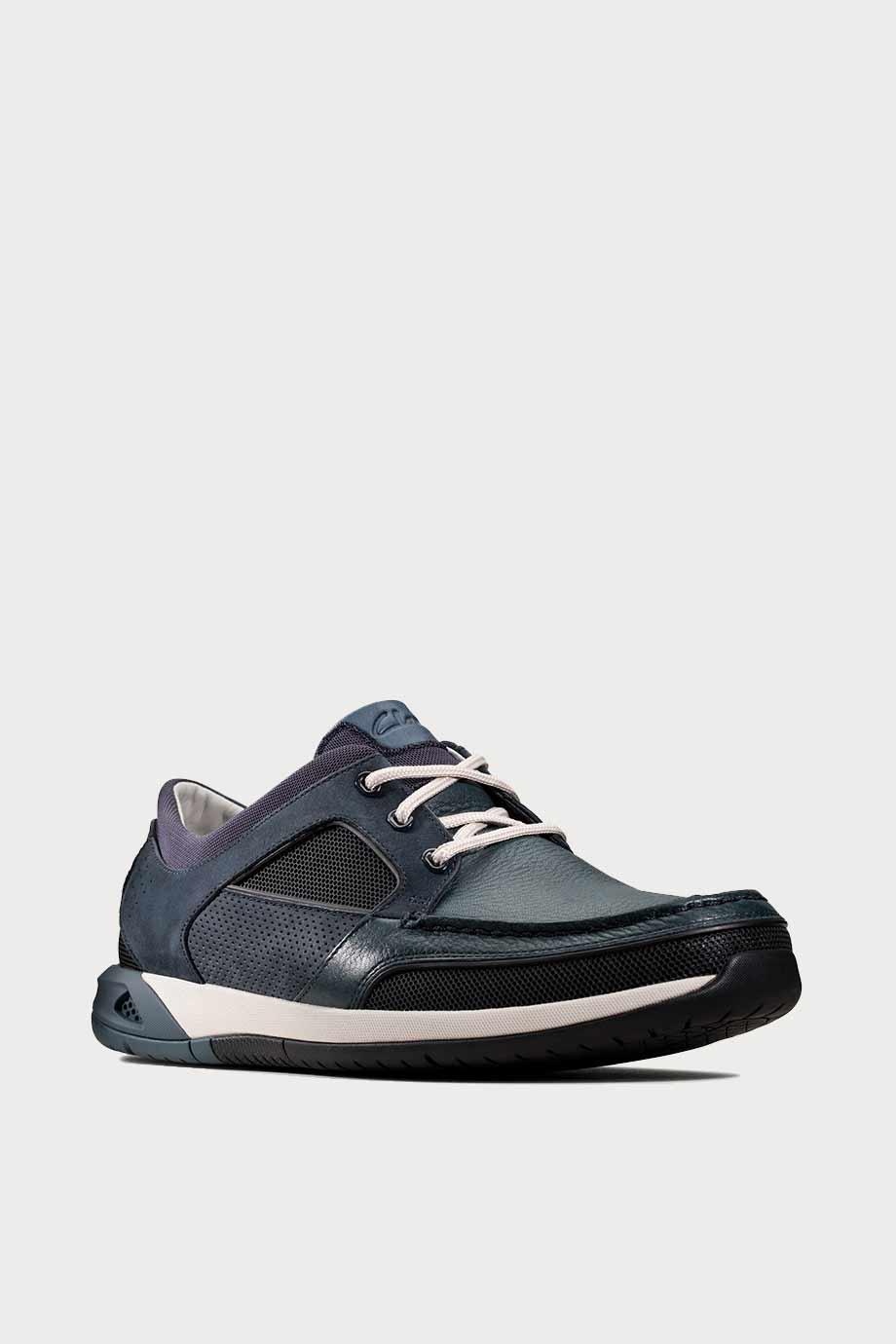 spiridoula metheniti shoes xalkida p Ormand Sail clarks navy leather 2