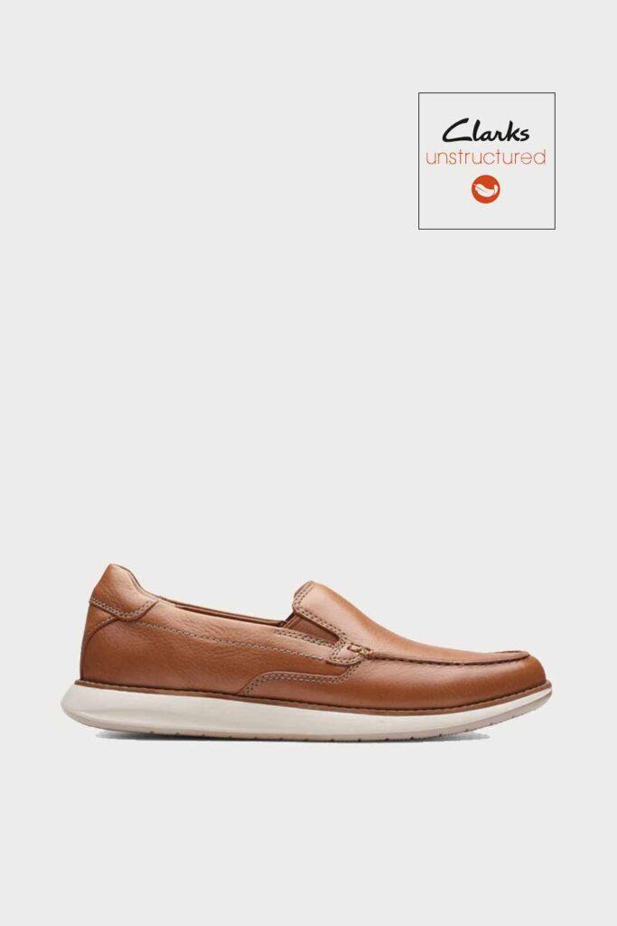 spiridoula metheniti shoes xalkida p Un Pilot Step clarks tan leather 1