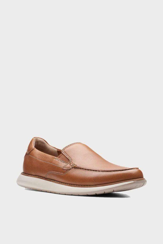 spiridoula metheniti shoes xalkida p Un Pilot Step clarks tan leather 2