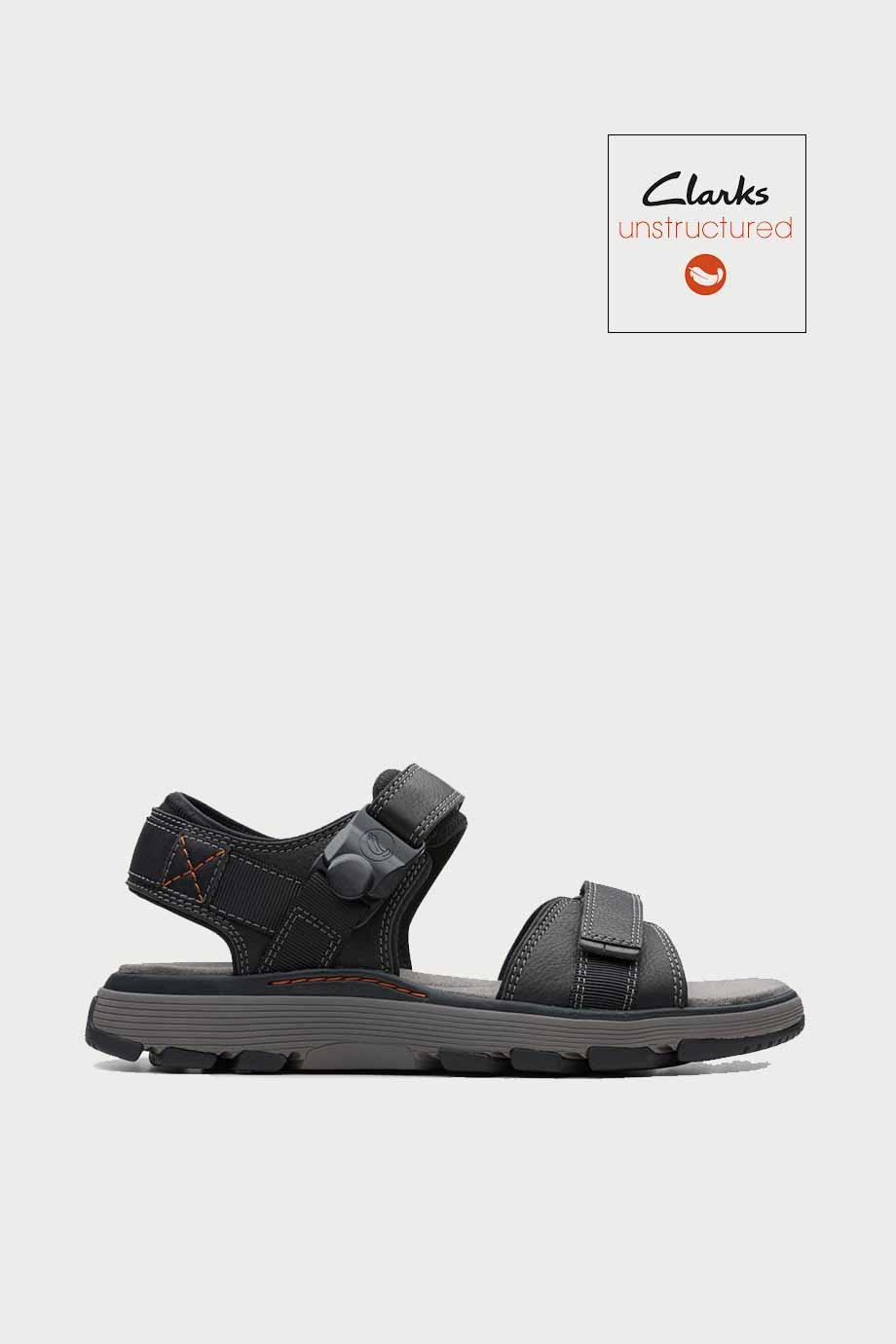 spiridoula metheniti shoes xalkida p Un Trek Part clarks dark black leather 1