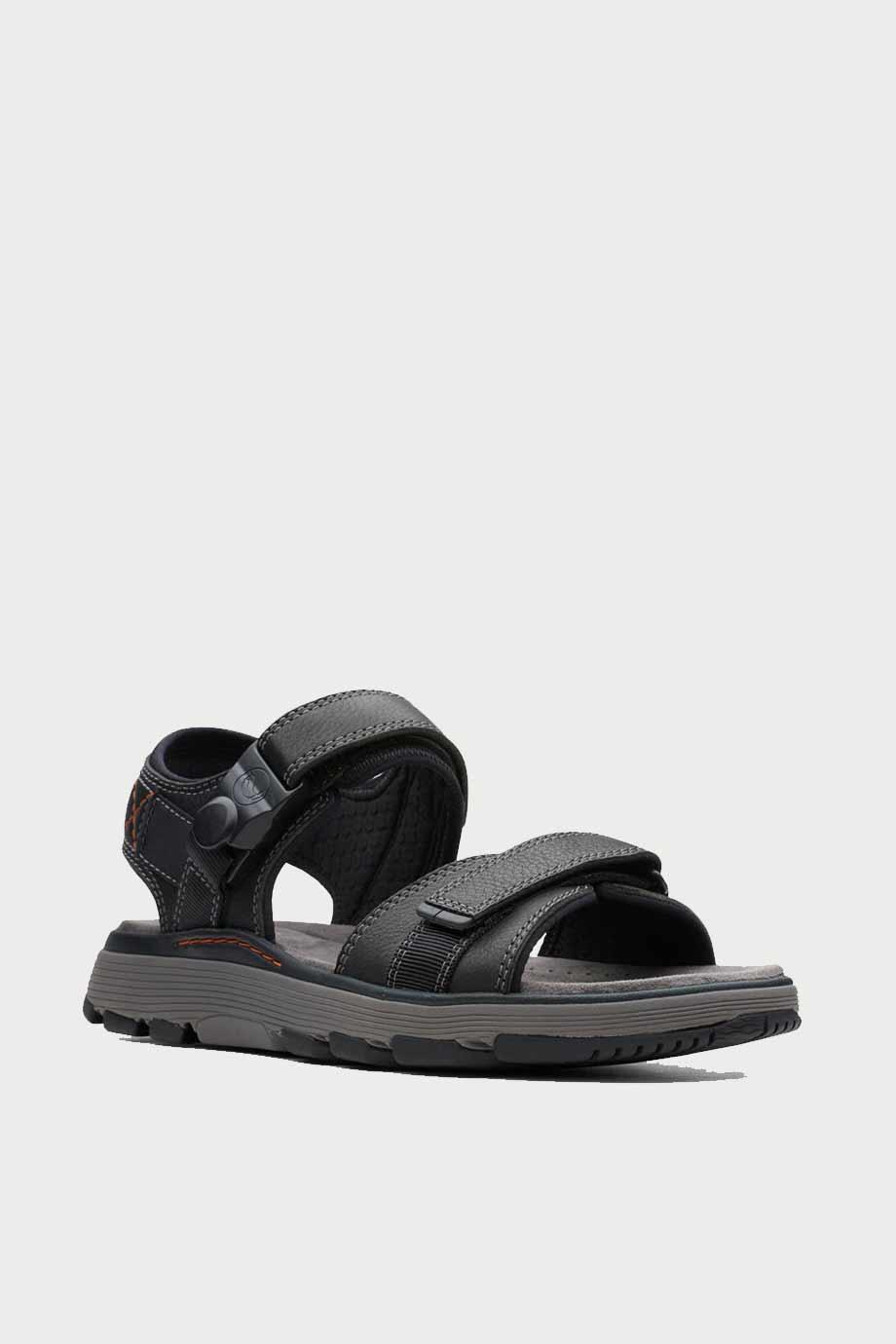 spiridoula metheniti shoes xalkida p Un Trek Part clarks dark black leather 2