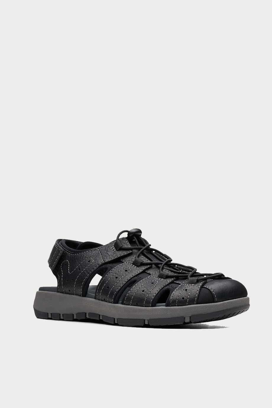 spiridoula metheniti shoes xalkida p Brixby Cove clarks black leather 2
