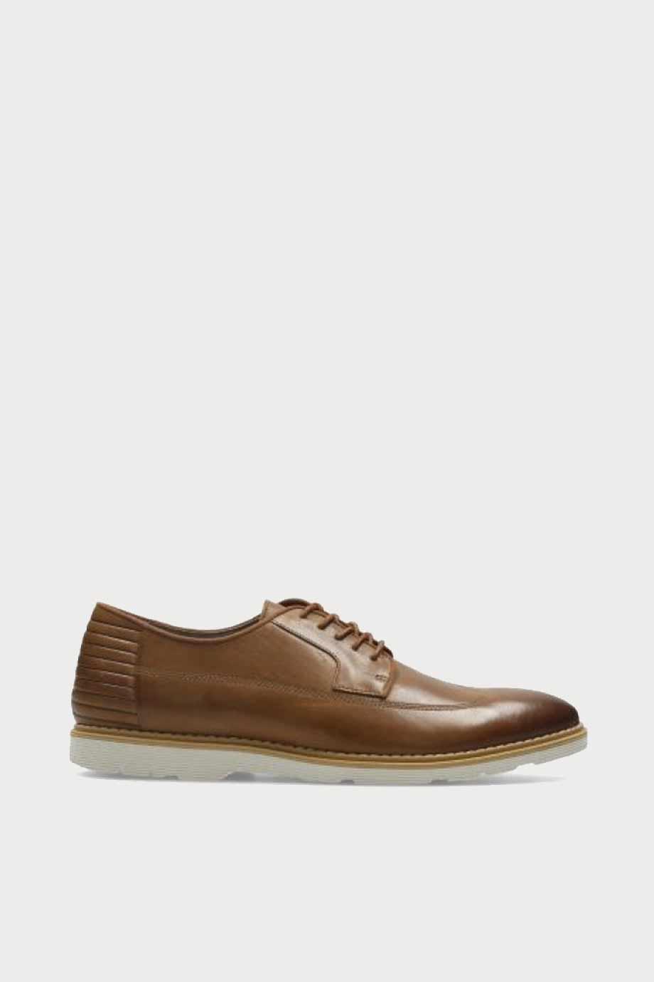 spiridoula metheniti shoes xalkida p Gamberson Style clarks tan leather 1