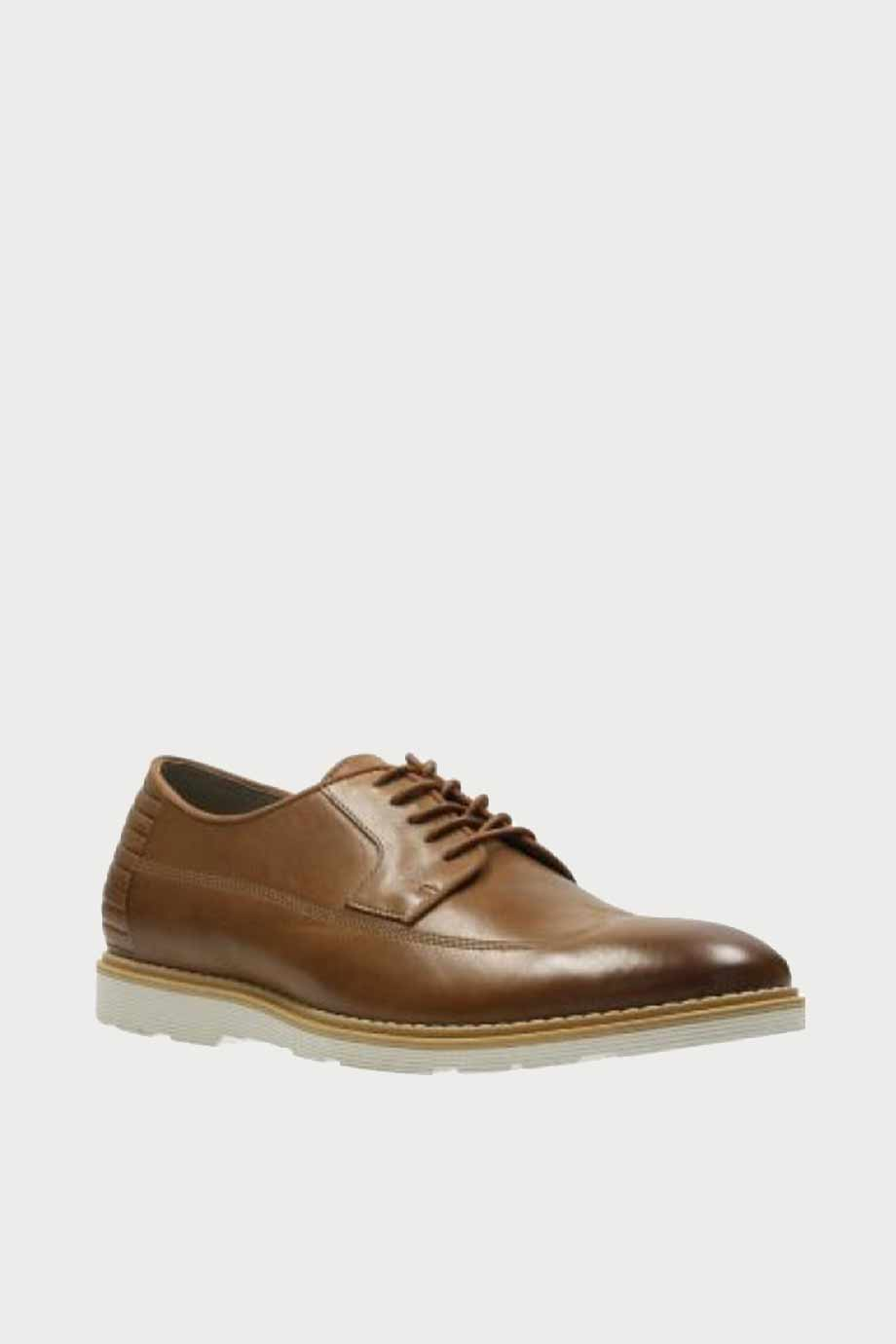 spiridoula metheniti shoes xalkida p Gamberson Style clarks tan leather 2
