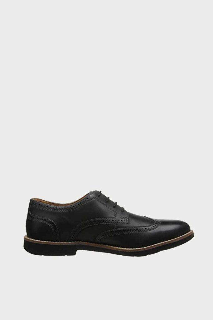 spiridoula metheniti shoes xalkida p Raspin Brogue clarks black leather 1