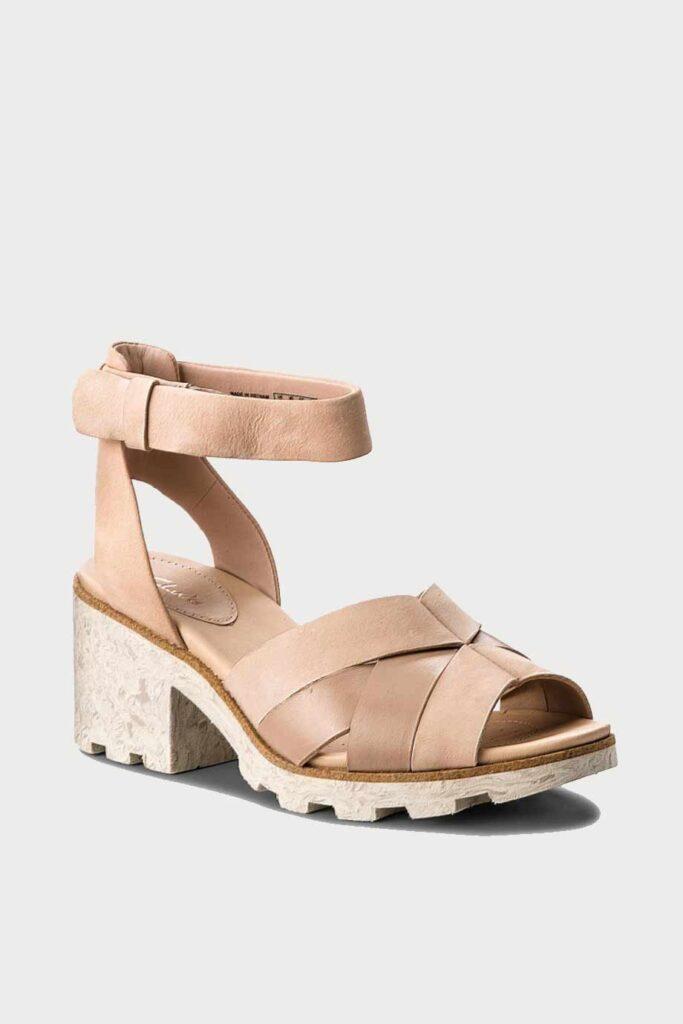 spiridoula metheniti shoes xalkida p Rene Daisy clarks nude pink combi 1