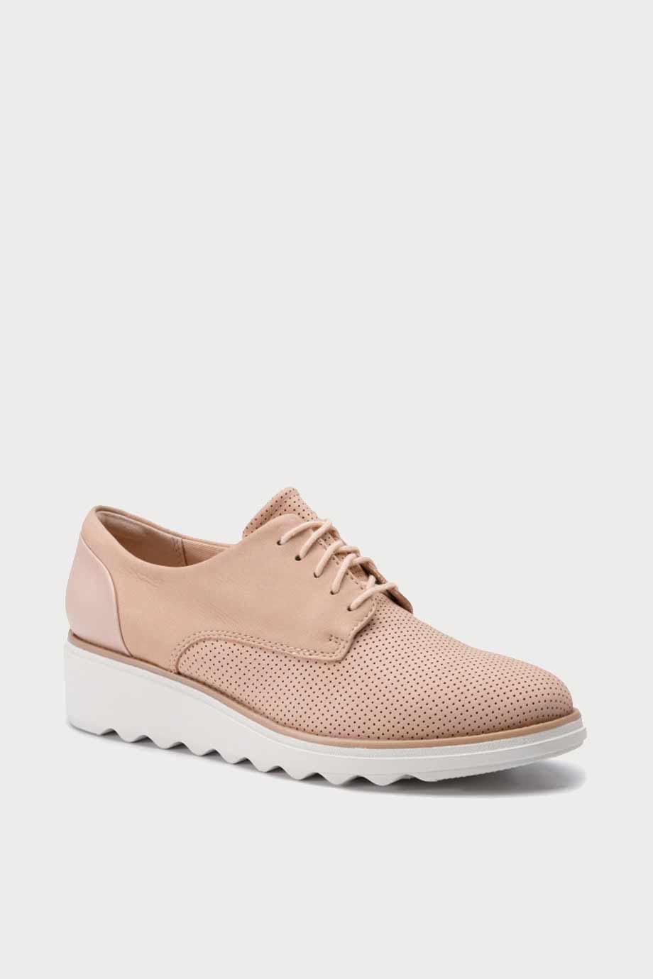 spiridoula metheniti shoes xalkida p Sharon Crystal clarks blush nubuck 1