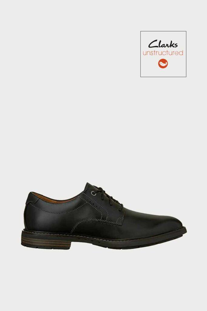 spiridoula metheniti shoes xalkida p Unelott Plain clarks black leather 5