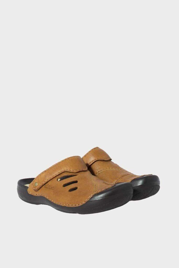 spiridoula metheniti shoes xalkida p Wild Vibe clarks tan leather 3