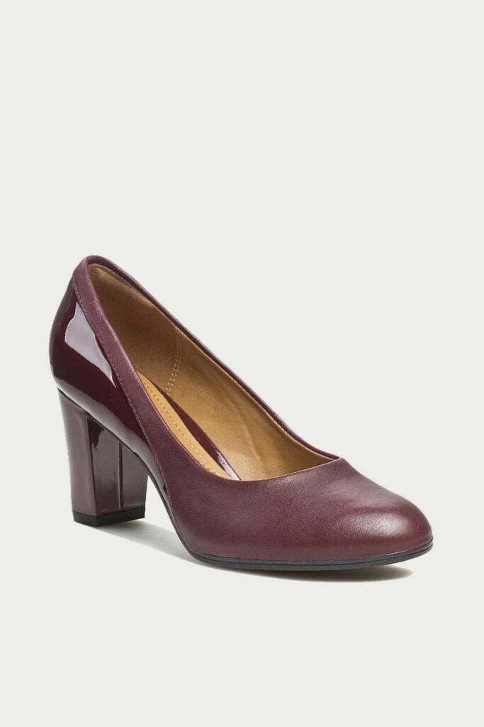 spiridoula metheniti shoes xalkida p Basil Auburn Burgundy clarks1