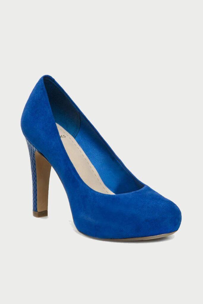 spiridoula metheniti shoes xalkida p Carric Tangle Blue Suede Clarks