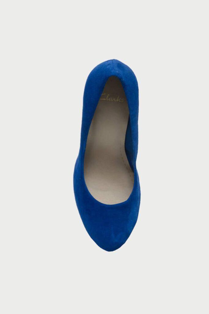 spiridoula metheniti shoes xalkida p Carric Tangle Blue Suede Clarks4