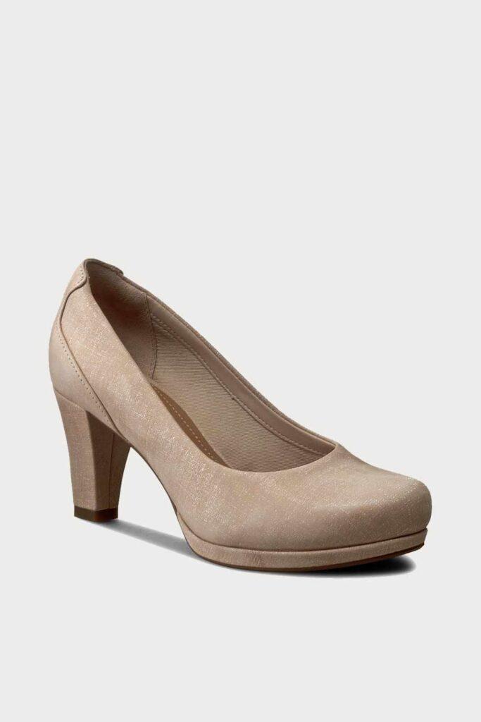 spiridoula metheniti shoes xalkida p Chorus Chic Nude Leather Clarks