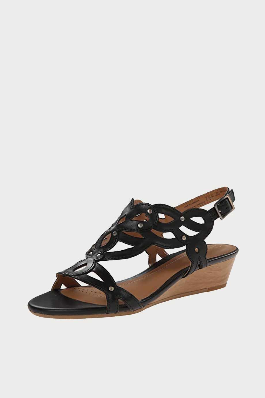 spiridoula metheniti shoes xalkida p Payfool Tunes clarks black leather 2