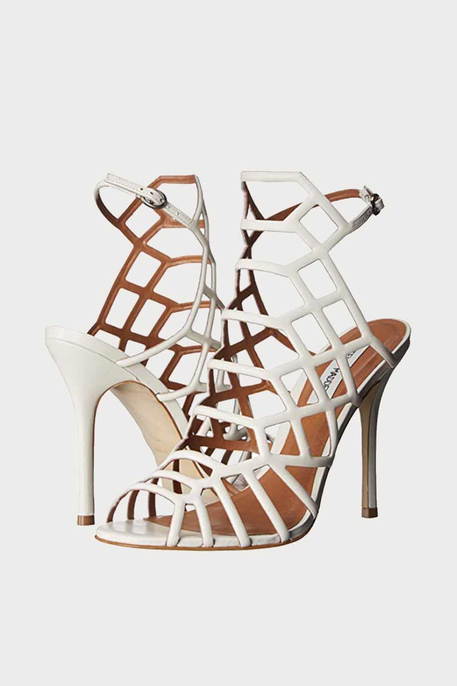 spiridoula metheniti shoes xalkida p Steve Madden Slithur clarks white leather 6