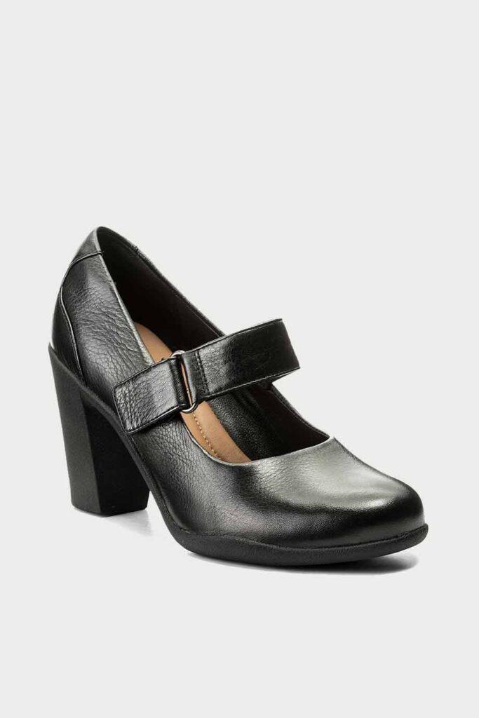 spiridoula metheniti shoes xalkida p Adya Clara Black Leather Clarks4