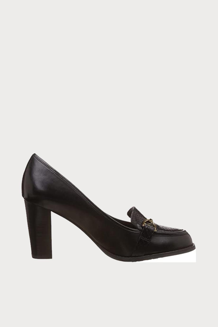 spiridoula metheniti shoes xalkida p Alfresco Cafe Black Leather Clarks2