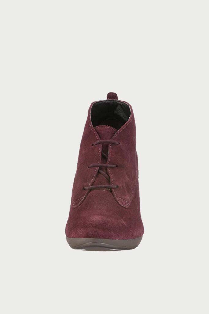 spiridoula metheniti shoes xalkida p Kenna Bonnie Red Nubuck Clarks4