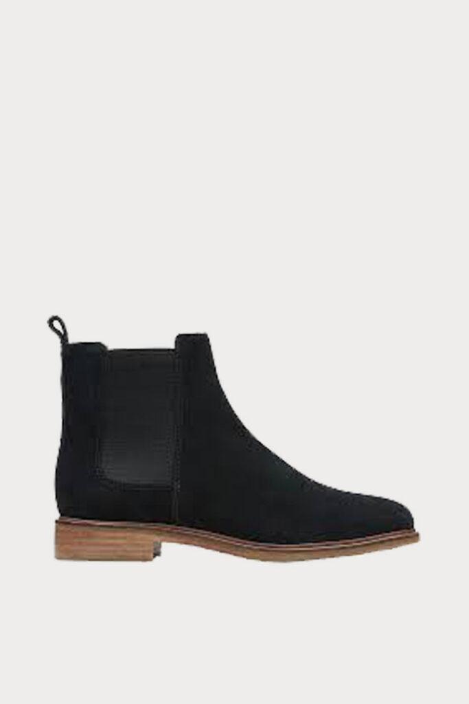 spiridoula metheniti shoes xalkida p Clarkdale Arlo Black Suede Clarks2