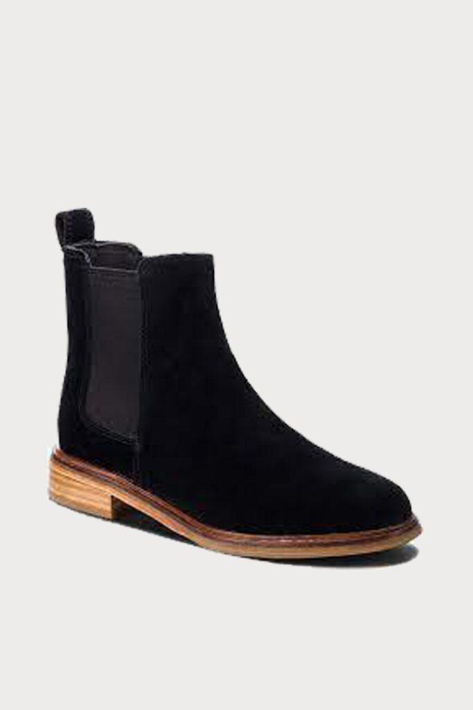 spiridoula metheniti shoes xalkida p Clarkdale Arlo Black Suede Clarks3