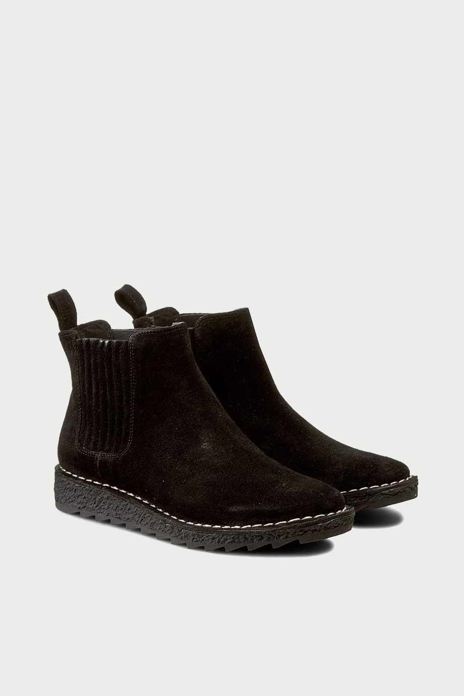 spiridoula metheniti shoes xalkida p Oslo Chelsea Black Clarks2