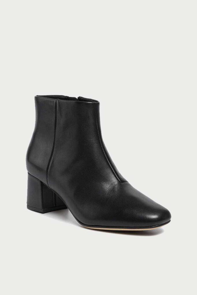 spiridoula metheniti shoes xalkida p Sheer Flora Black Clarks2
