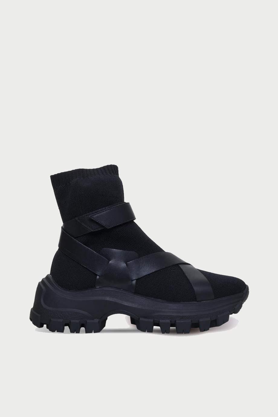 spiridoula metheniti shoes xalkida p 367004 knit mestico black carrano