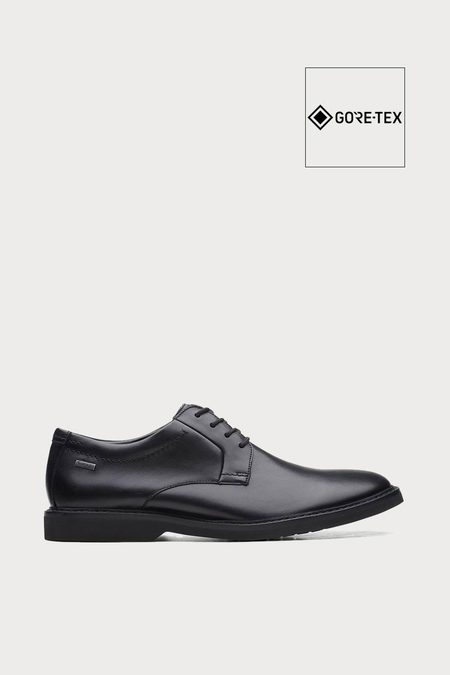 spiridoula metheniti shoes xalkida p AtticusLTLoGTX black leather clarks