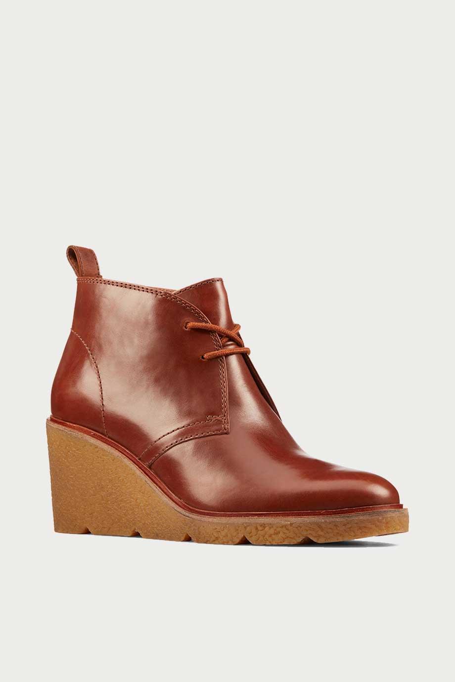 spiridoula metheniti shoes xalkida p clarkford dbt dark tan leather