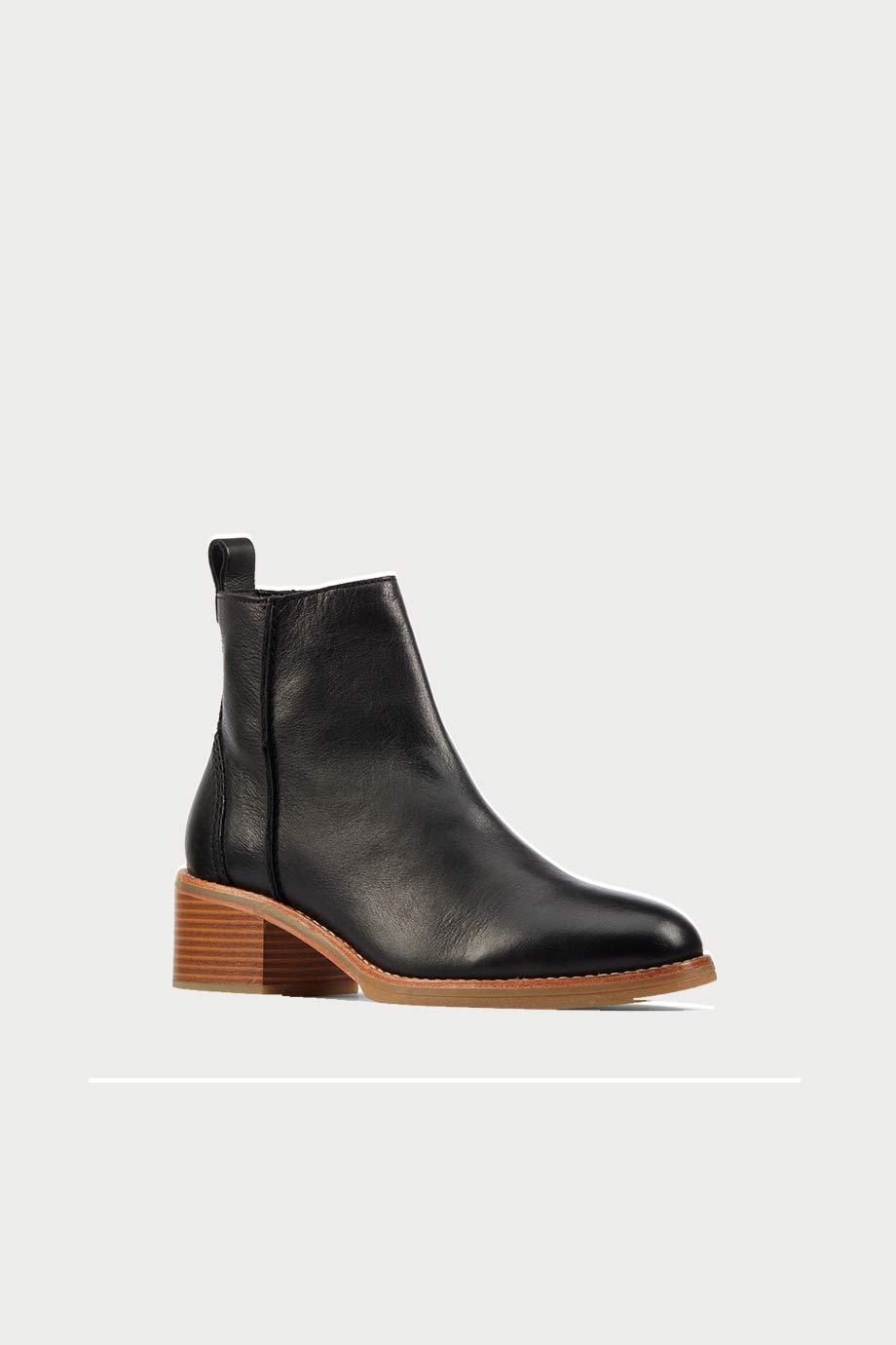 spiridoula metheniti shoes xalkida p cologne zip black leather clarks