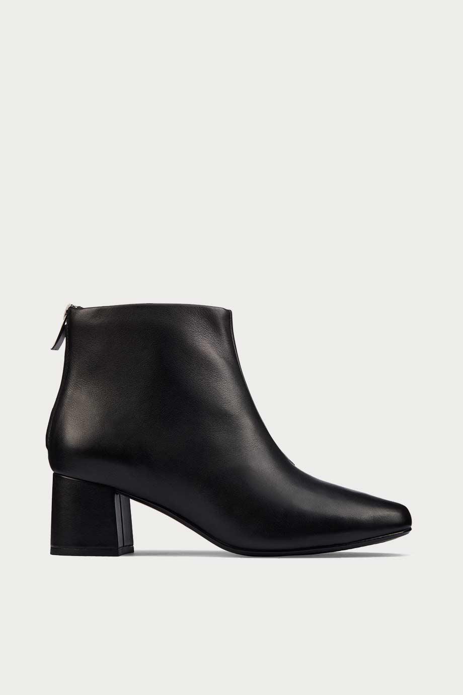 spiridoula metheniti shoes xalkida p sheer 55 zip black leather clarks