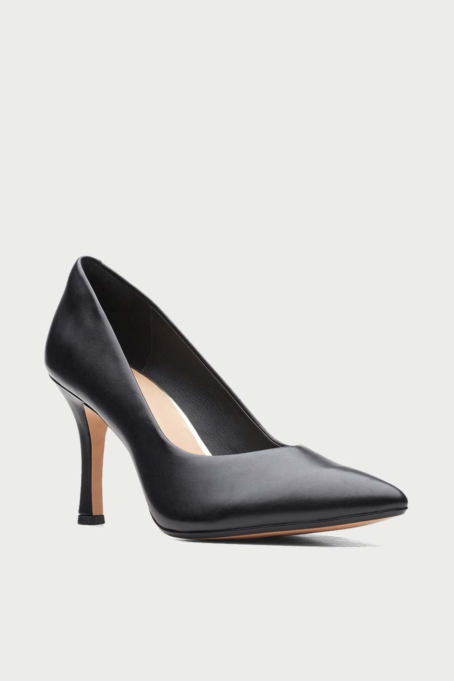 spiridoula metheniti shoes xalkida p violet 85 court black leather clarks 2